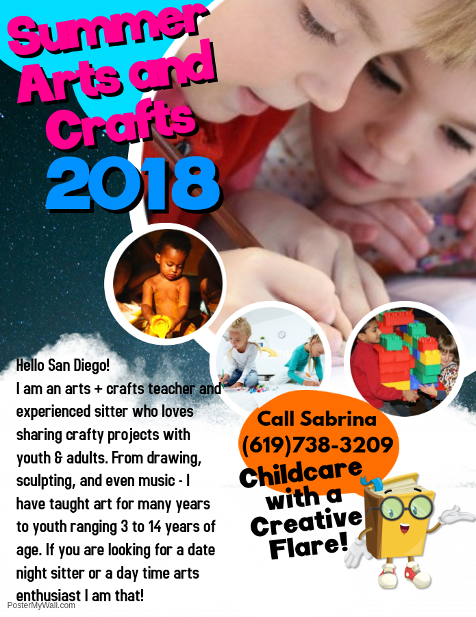 Copy of Kids Admission Flyer - Made with PosterMyWall